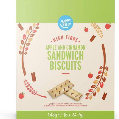 Sandwich biscuit appel kaneel